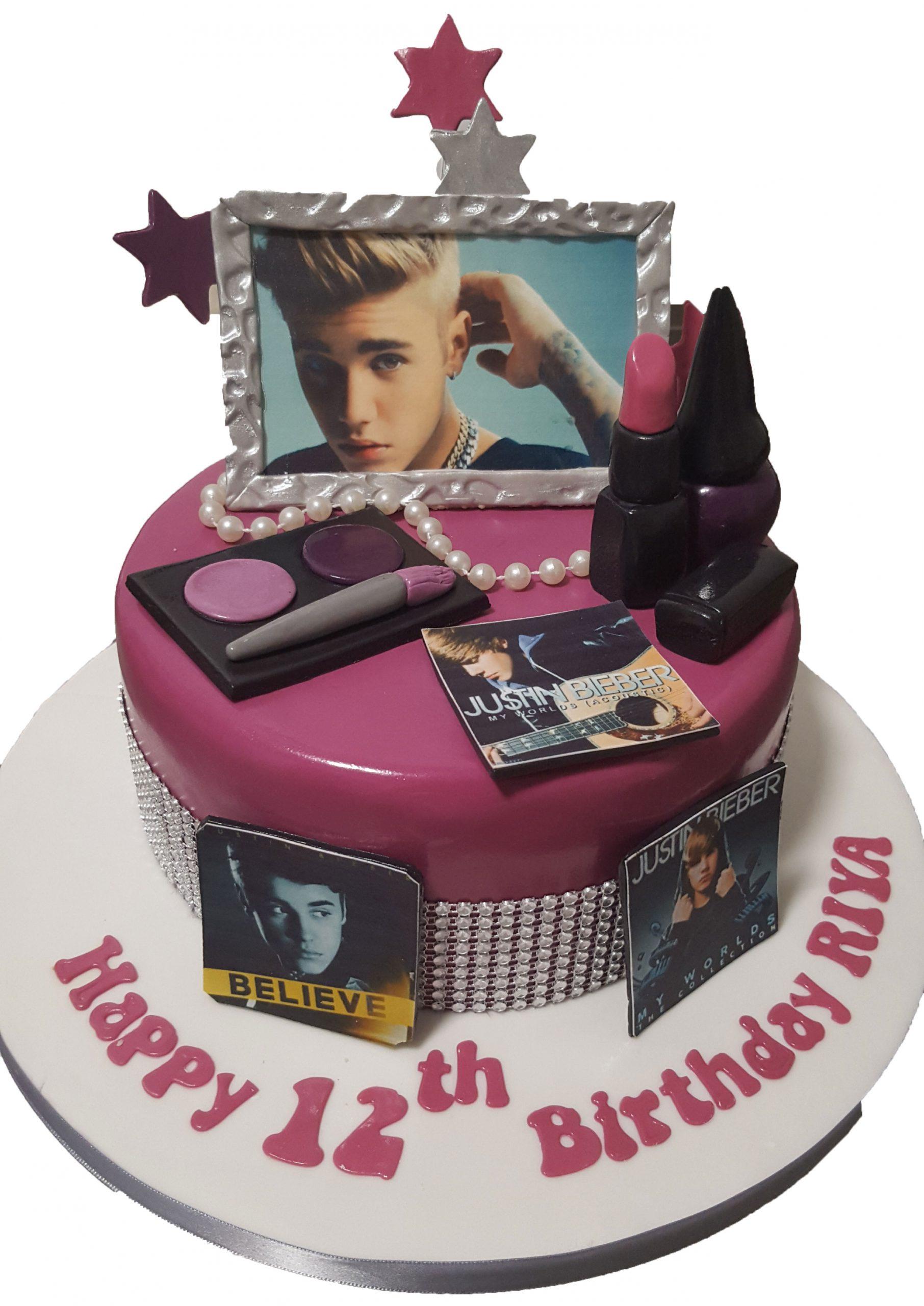 Stupendous Cake Boutique Girls Fashion Birthday Cake Cb Nc130 Cake Boutique Personalised Birthday Cards Paralily Jamesorg