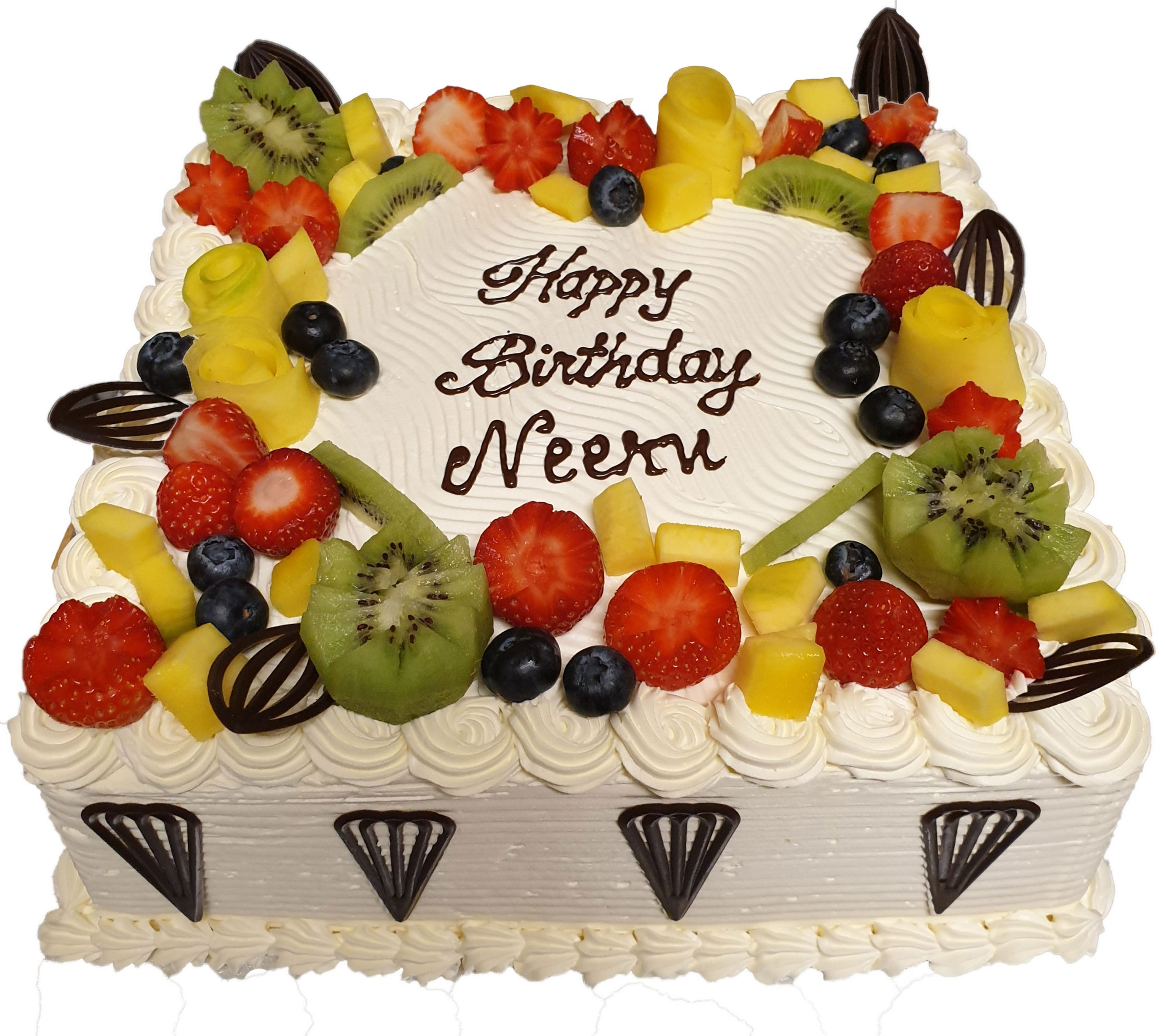 Stupendous Cake Boutique Fruits Topped Fresh Cream Cake Cb Sc031 Cake Funny Birthday Cards Online Alyptdamsfinfo
